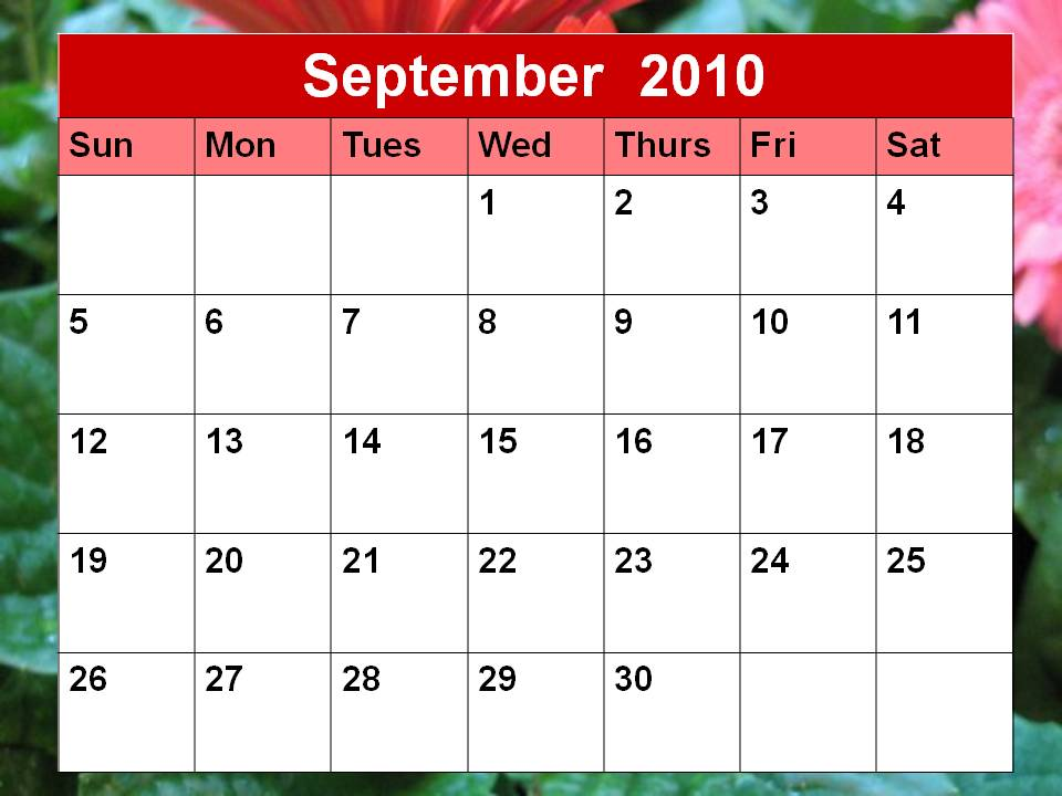 A Matter Of Preparedness September Is Quot National