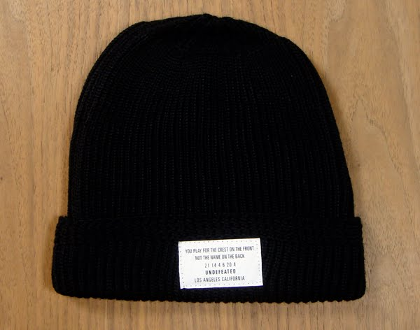 6669ee2ba7d Undefeated Cuffed Beanie. Available in Black.