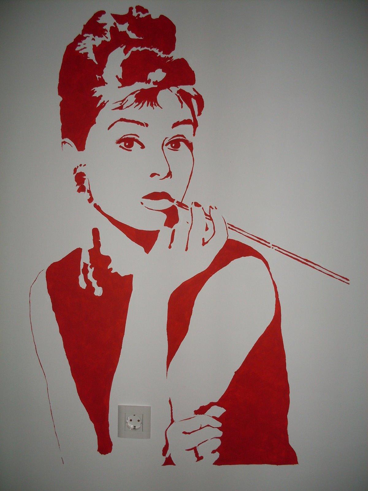 desene pe peretipaintings on the walls