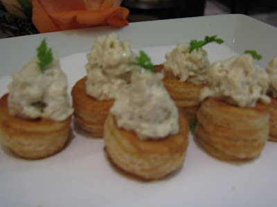 Chicken Salad in Puff Pastry Shell