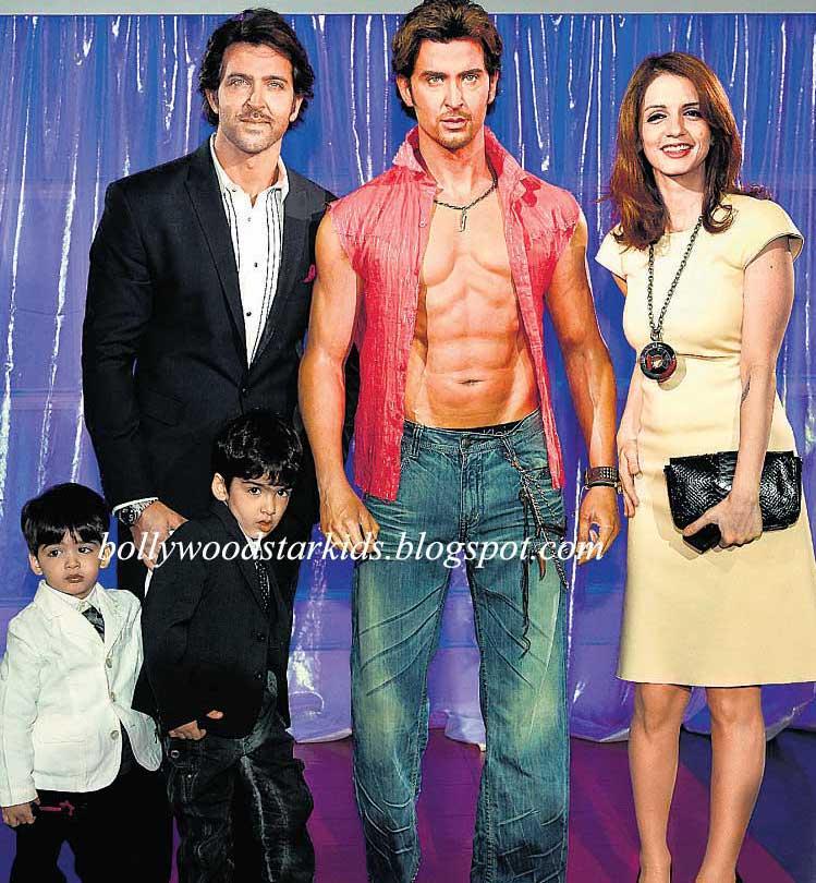 Bollywood Star Kids Hrithik Roshan And Sons Hrehaan And Hridaan