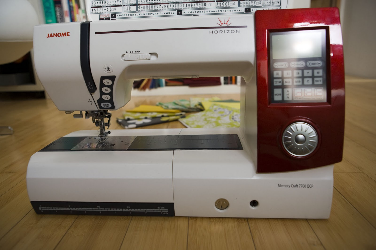 Needles And Lemons Janome Horizon Memory Craft 7700 Sewing Machine