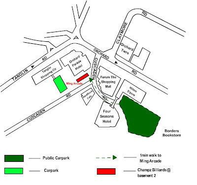 Hard Rock Cafe Orchard Parking