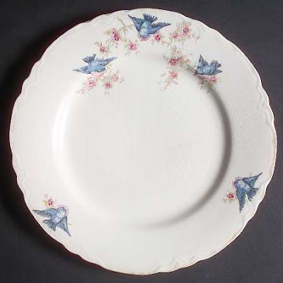 Dishfunctional Designs Birds On Vintage China Patterns
