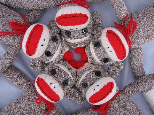 Creative ideas for you Sock Monkeys