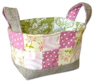 Creative Ideas For You Fabric Basket Tutorial