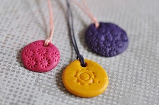 Creative Ideas For You Lilla Clay Pendant Children Can Make