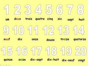 Image result for chiffres de 1 à 20