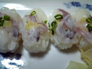 yariika no nigiri-zushi