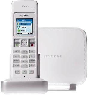 Netgear SPH200D dual mode Skype telefoon