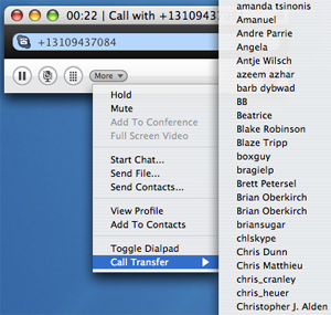 Skype for Mac 2.6 beta