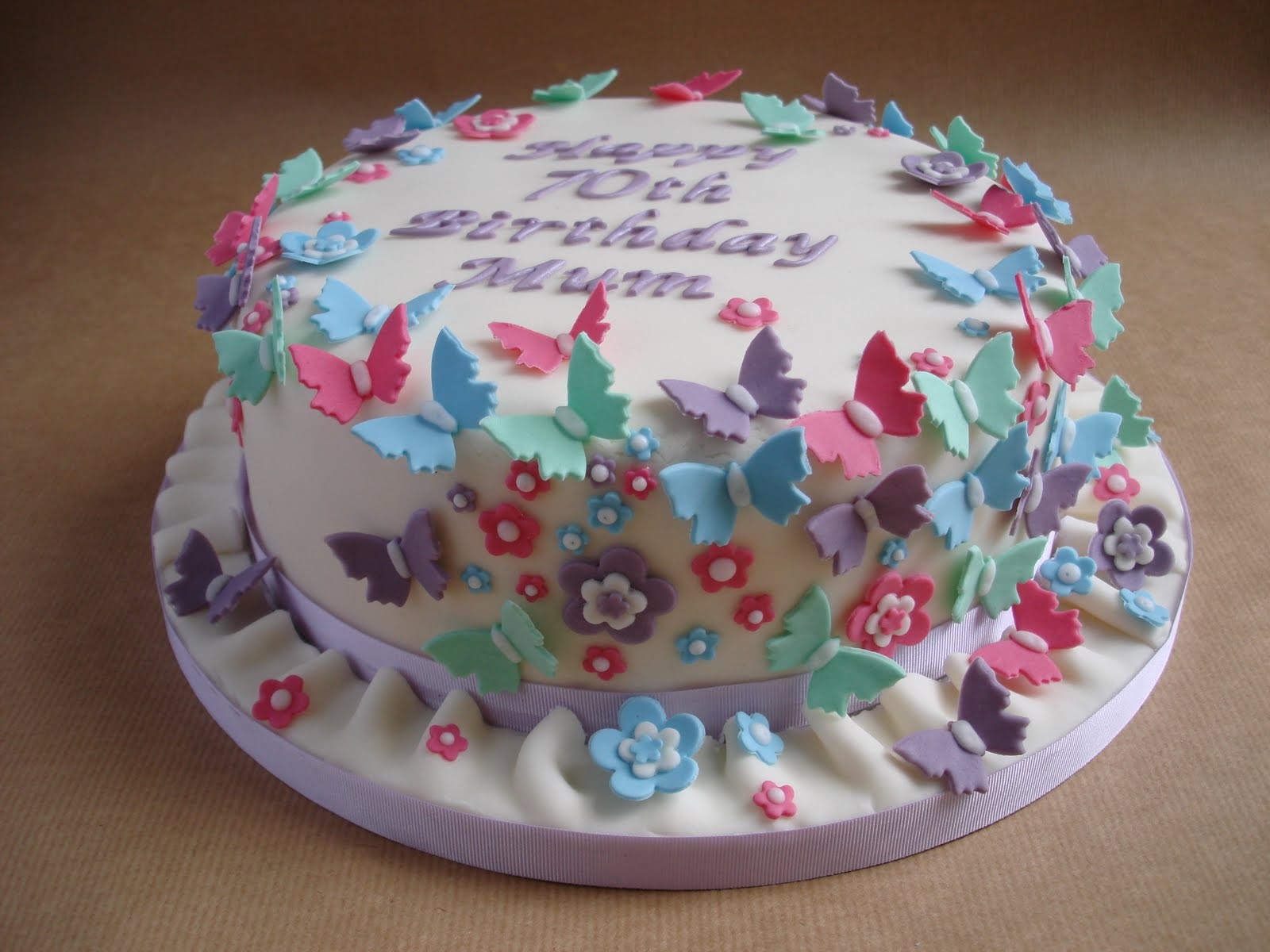 Butterfly For Decoration Cake