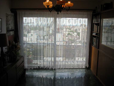 cortinas para ventanas grandes tejidas a mano