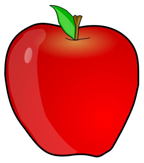apple clipart aa abc bb single letter letters cc english clip apples