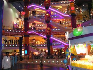 Centro comercial de Kuala Lumpur.
