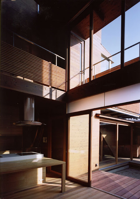 Design Of Modern Wooden Japanese House Home Arsitektur