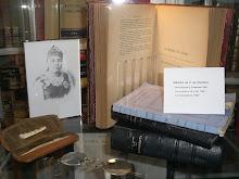 Algunos de los objetos de la Esctitora (Fondos del Museo de artes y Costumbres Populares)