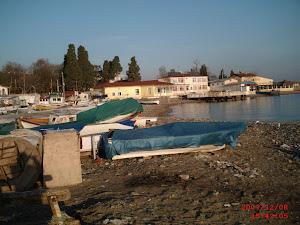 Darıca sahilden ve balıkçı barınağından görüntüler