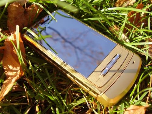 LG KE970 Shine gold