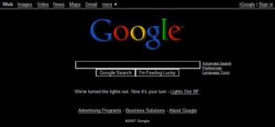 черный google