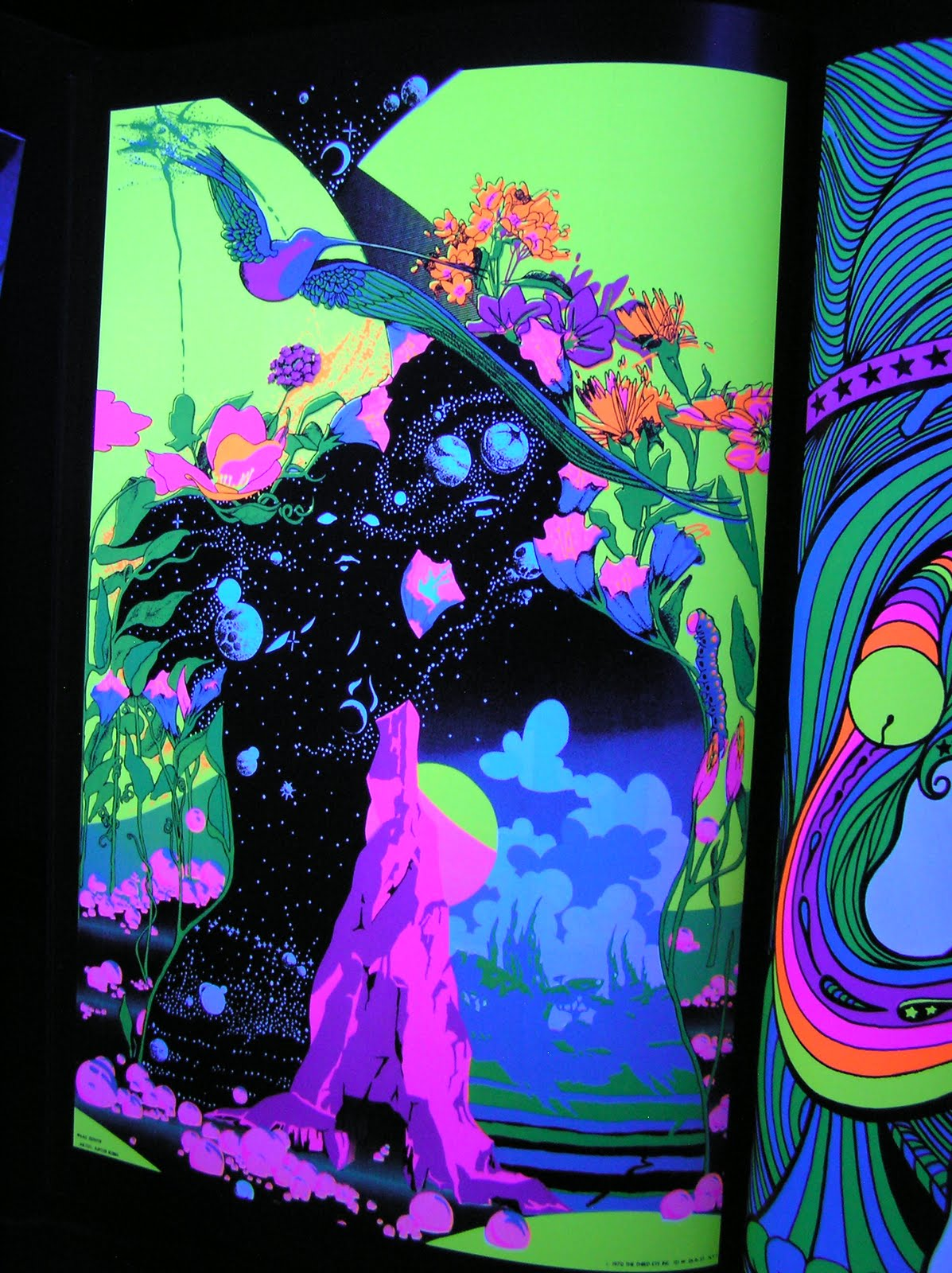 Glorious Trash Ultraviolet 69 Blacklight Posters From