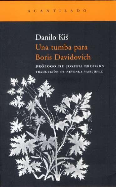 Una Tumba Para Boris Davidovich – Boris Davidovich