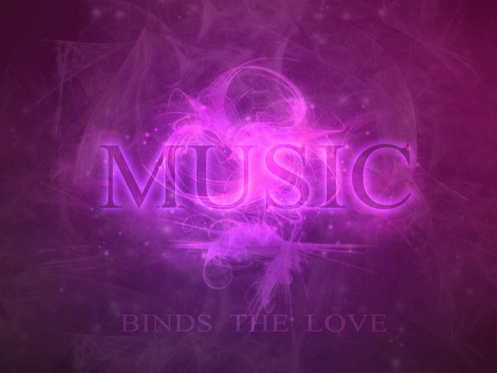 Pink Music Wallpaper: HD Wallpapers: Purple Music HD Wallpaper