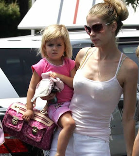 denise richards louis vuitton handbag