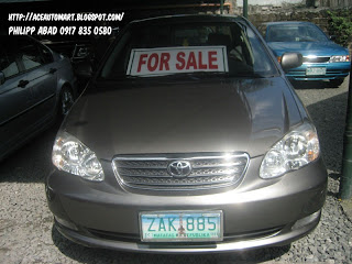 brand new toyota altis for sale philippines grand avanza veloz matic quality used car finder 2005 1 8g sold