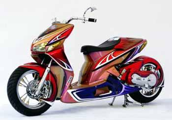 Modifikasi Motorcycle Revealed Expression Of The Motorcycle 2010