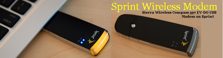 Sprint USB WireLess Modem June 2008