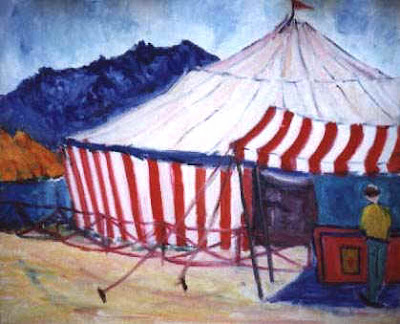 A chegada do circo