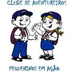 Clube de Aventureiros Pequeninos em Ação.