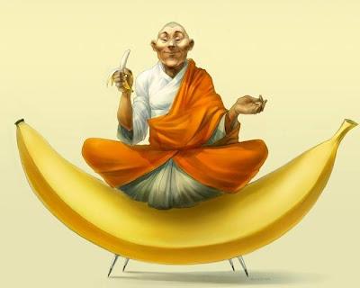 bouddha banana