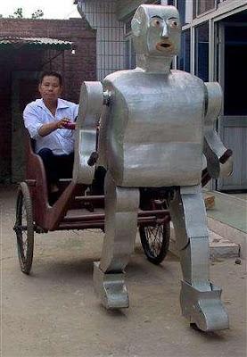 robot chinois