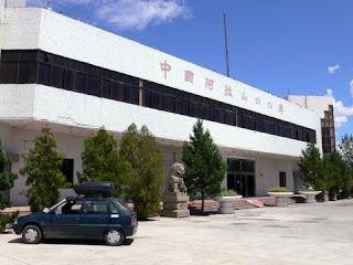 poste de douane Chinois a Druzba