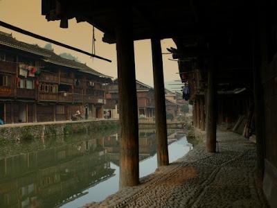 maisons en bois de Zhaoxing