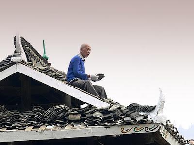 Un Dong sur le toit