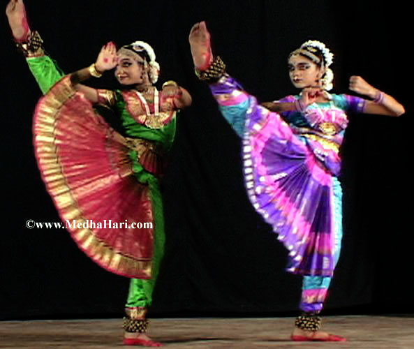 The gallery for --> How To Wear Bharatanatyam Dress For Kids