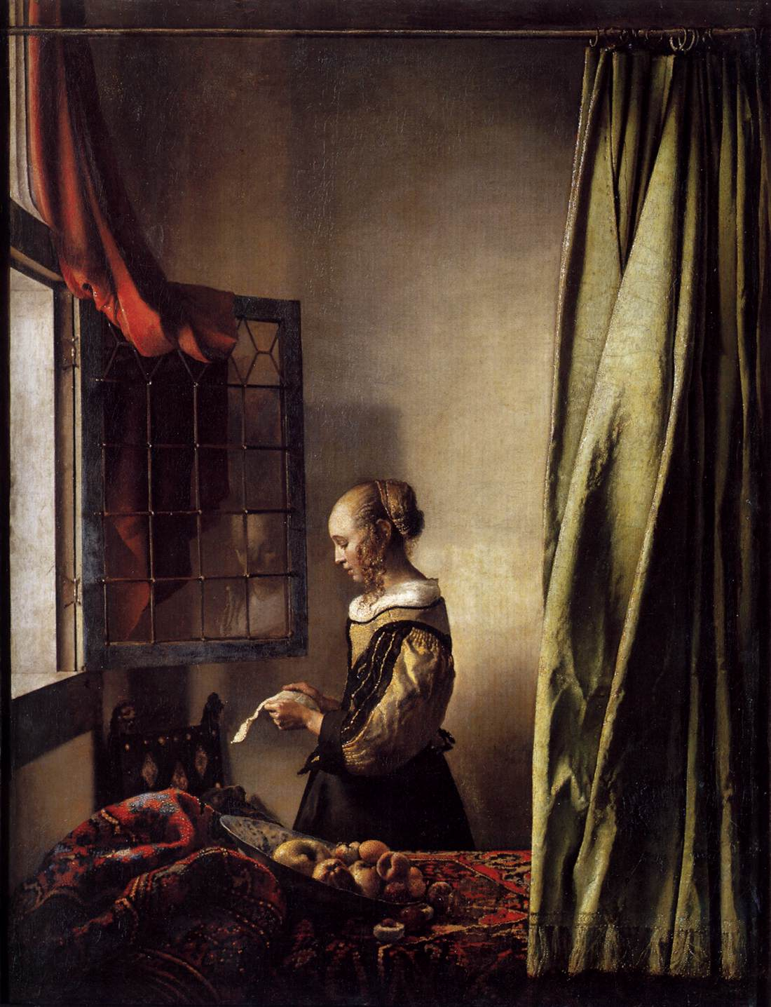 the letter black the pins and needles of a thousand years vermeer and 1657