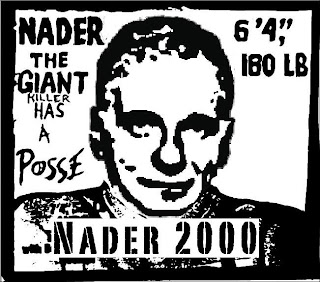 classic Nader for President poster