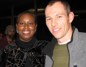 Cynthia McKinney and Michael Rochmes