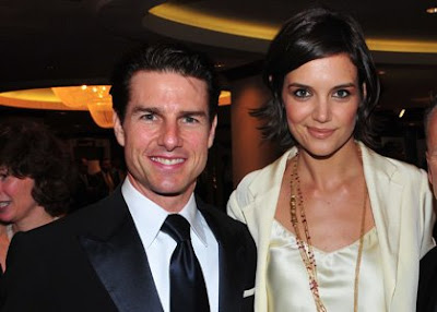 Tom Cruise and Katie Holmes Visit the White House