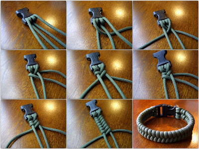 Stormdranes Blog Woven Paracord Bracelets One Strand Two Working