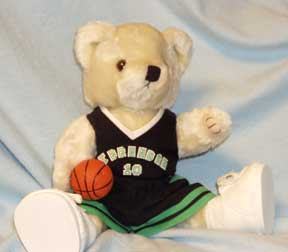 Basketball Bear, dress a bear in your favorite team's colors