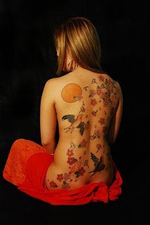 Nice Japanese Tattoos With Image Japanese Tattoo Designs For Female Tattoo With Japanese Bird Tattoo On The Body Picture 3