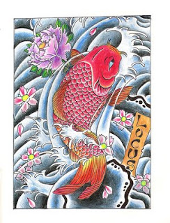 Picture Japanese Tattoos Especially Japanese Koi Fish Tattoo Designs