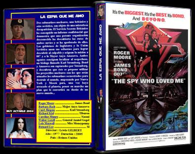 007. La espía que me amó 1977 | Carátula | cine clásico