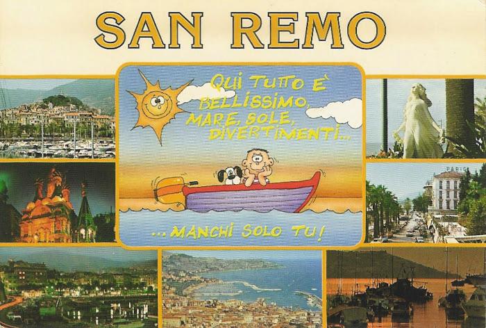 Sanremo.. ti aspetta .. non puoi mancare.. è stato un sogno?