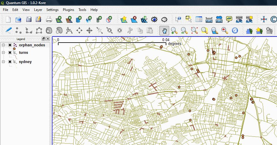 Using Open Street Map data for Australia Biarri – Australia Street Map